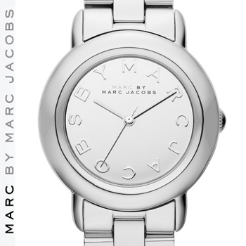 'Marci' MARC ジェイコブス Watch Dial マーシー 【正規品取扱店】 JACOBS マーク MARC Mirror 腕時計 マーク バイ BY カラー:シルバー