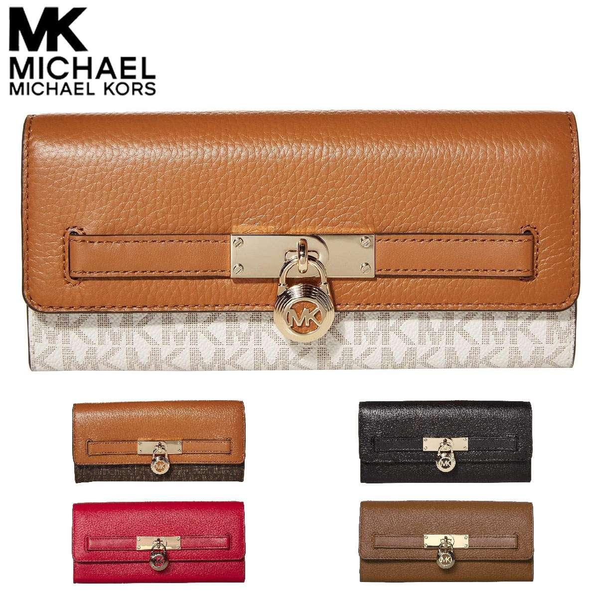 正規取扱店 マイケルコース 財布 長財布 レディース ブランド l字ファスナー Michael Kors 予約販売 本革 薄い