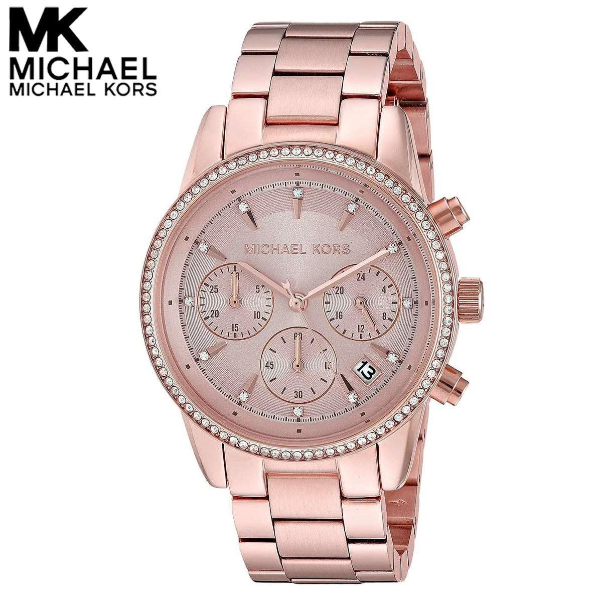 Kors おしゃれ 腕時計 ブランド Ritz リッツ マイケルコース 時計 レディース Michael