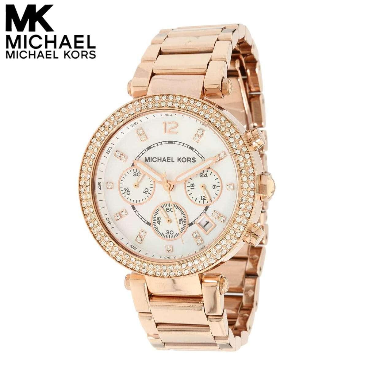 マイケルコース 時計 腕時計 ファッション通販 レディース ブランド 当店限定販売 Kors おしゃれ パーカー Parker Michael