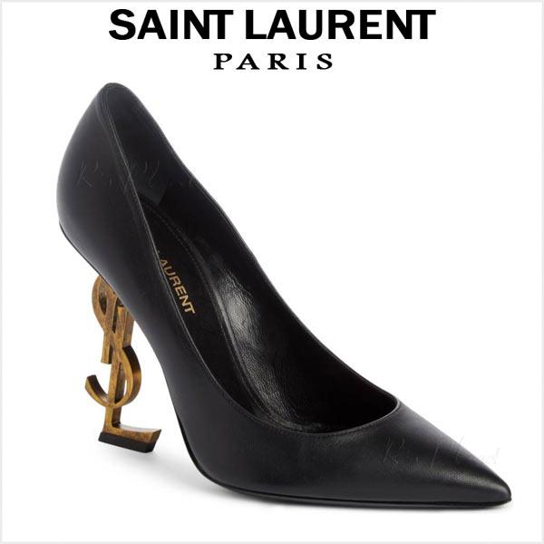 サンローラン パリ パンプス ヒール 大きいサイズ SAINT LAURENT OPYUM