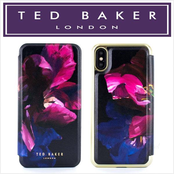 テッドベーカー テッドベイカー iphone ケース 手帳型 iPhoneX アイフォン TED BAKER