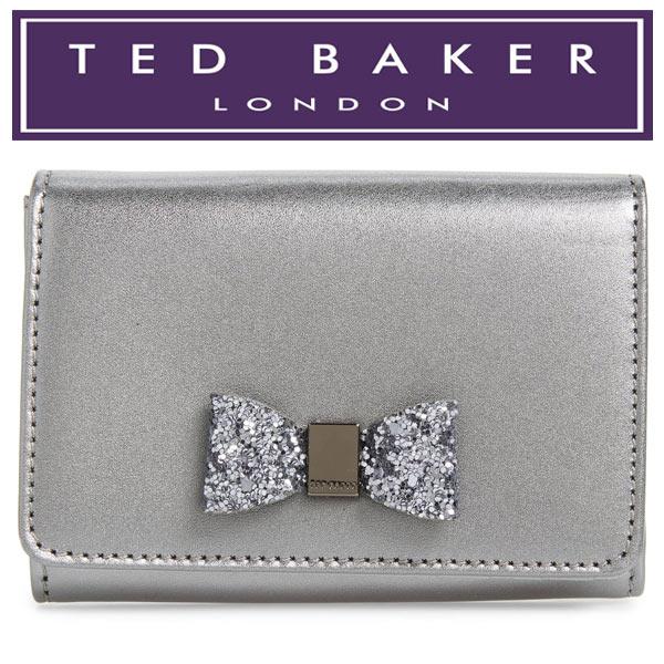 テッドベーカー 財布 ミニ リボン 二つ折り レディース ブランド 人気 通販 Ted Baker