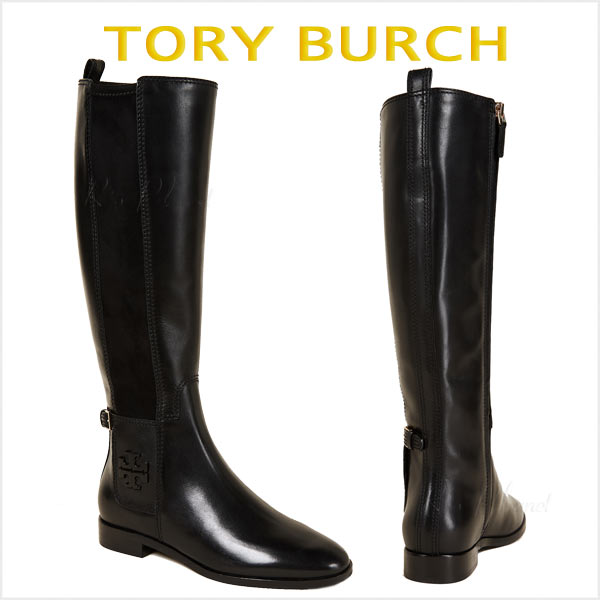 トリーバーチ ブーツ レディース 本革 ロング 大きいサイズ TORY BURCH WYATT ワイヤット
