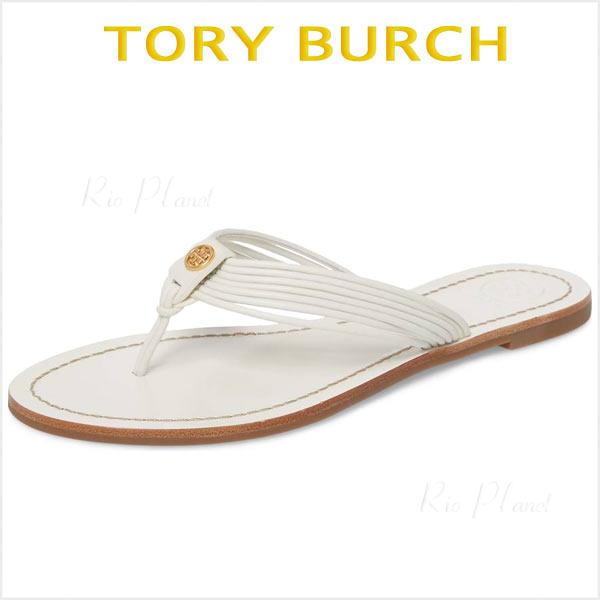 トリーバーチ サンダル ビーサン ビーチ 白 ホワイト ビーチサンダル 履き心地 サイズ TORY BURCH