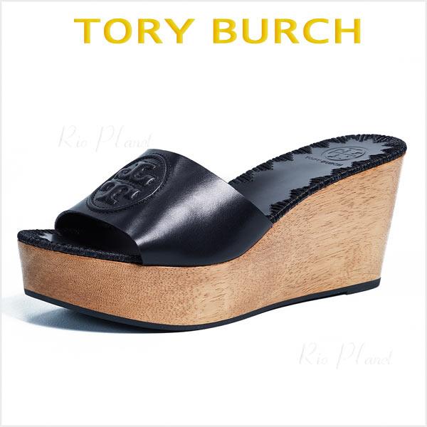 トリーバーチ サンダル 厚底 ウェッジ ウェッジソール 黒 ヒール 履き心地 サイズ TORY BURCH PATTY パティ