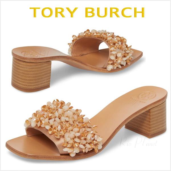 トリーバーチ サンダル ヒール 人気 靴 レディース 履き心地 サイズ TORY BURCH