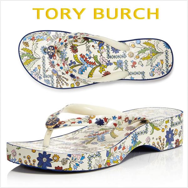 トリーバーチ サンダル 厚底 ウェッジ ウェッジソール ビーサン ビーチ 履き心地 ビーチサンダル TORY BURCH