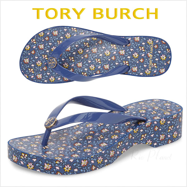 トリーバーチ サンダル 厚底 ウェッジ ウェッジソール ビーサン ビーチサンダル 履き心地 TORY 当店限定販売 ビーチ 期間限定で特別価格 BURCH