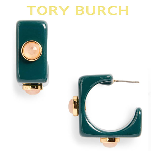 トリーバーチ アクセサリー ピアス おしゃれ 大人 チタン ブランド 個性的 Tory Burch