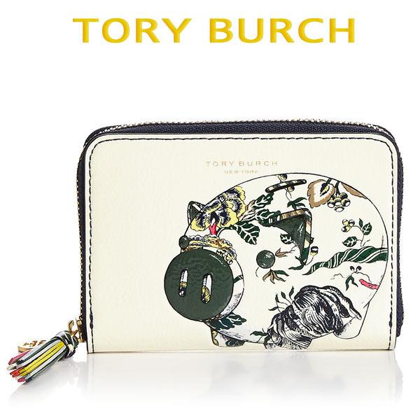 トリーバーチ 財布 ミニ ラウンドファスナー レディース お財布 セール ブランド 大人可愛い Tory Burch