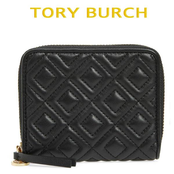 トリーバーチ 財布 ミニ 二つ折り 折り財布 ラウンドファスナー レディース お財布 大人可愛い Tory Burch