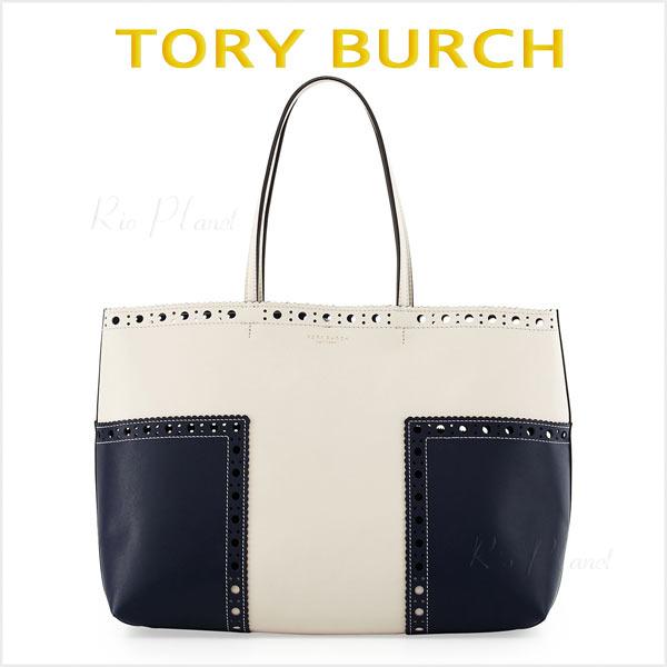 トリーバーチ トートバッグ レディース ブランド 新作 Tory Burch BLOCK-T 正規品