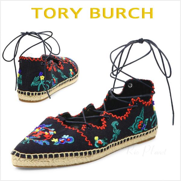 トリーバーチ スリッポン スニーカー エスパドリーユ レディース 歩きやすい 靴 Tory Burch 正規品