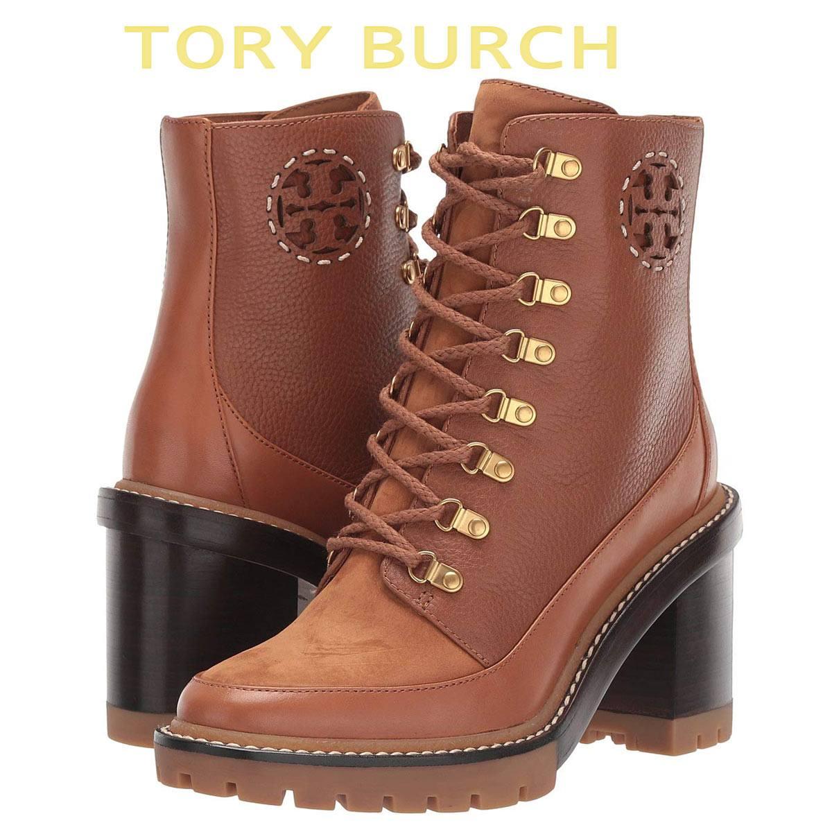 トリーバーチ ブーツ シューズ 靴 レディース 大きいサイズ あり ブーティ 本革 ショートブーツ Tory Burch