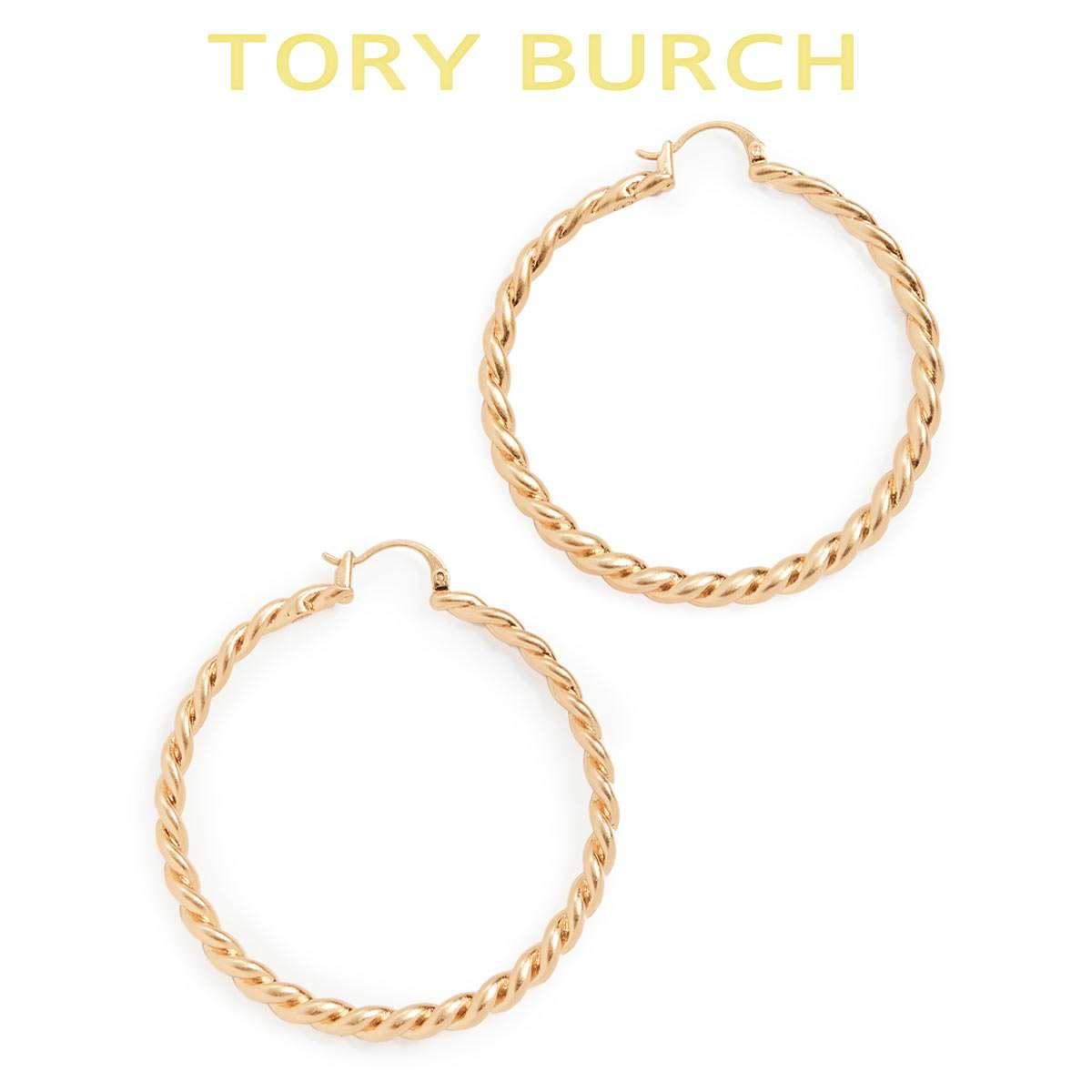 トリーバーチ ピアス フープ 日本メーカー新品 かわいい ゆれる ブランド Tory レディース Burch 直営限定アウトレット プレゼント 人気
