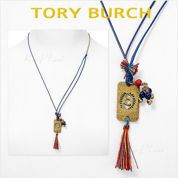 トリーバーチ ネックレス レディース ブランド ペンダント EVIL-EYE 新作 プレゼント Tory Burch 正規品