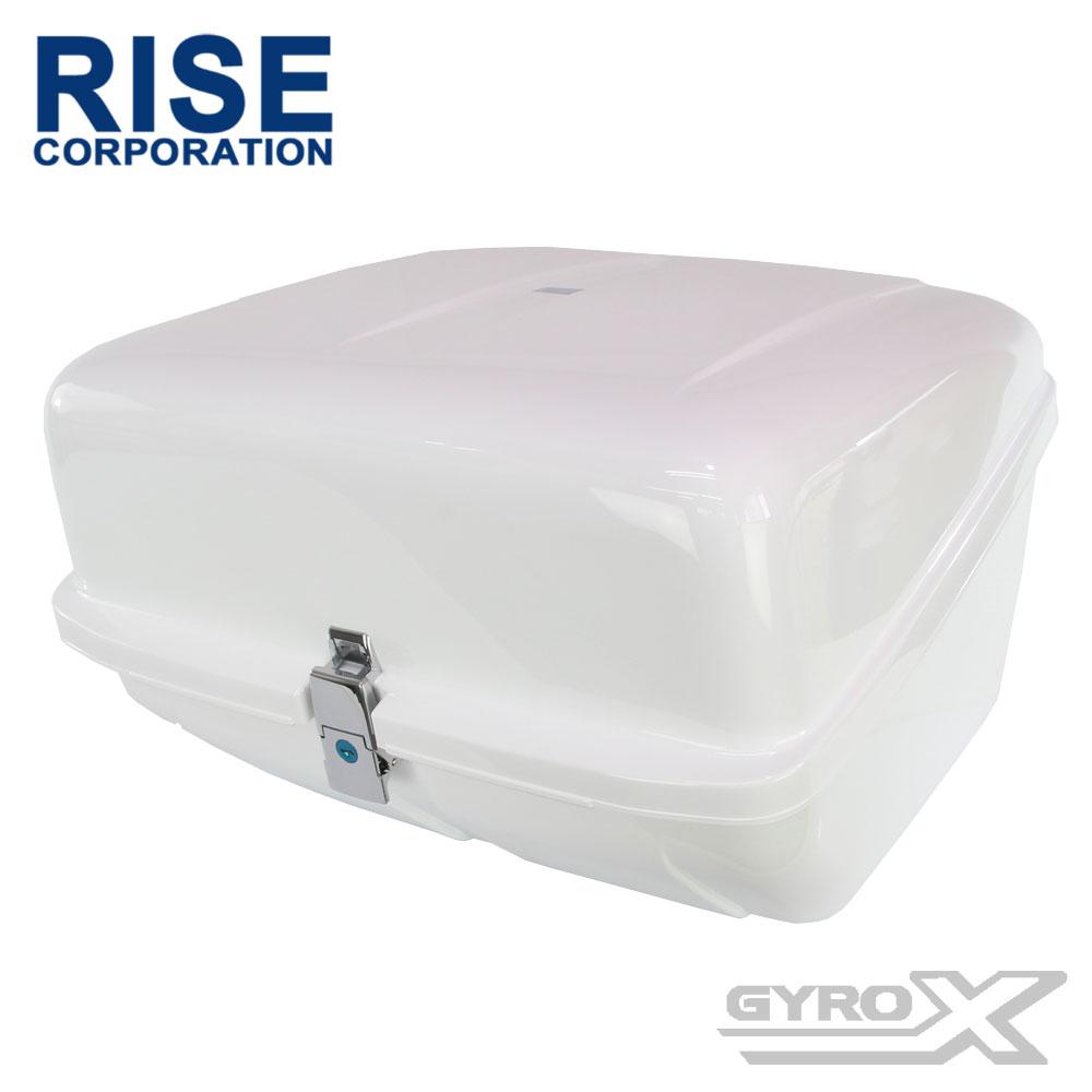 ホンダ ジャイロX TD01 TD02 純正マルチボックスタイプ 社外リアボックス リアケース トップボックス ホワイト 白 大容量95L HONDA GYROX