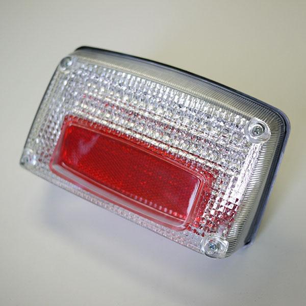 GSX1100S GSX750S カタナ 刀用 LED ウインカー付き テールランプ/ライト ナンバー灯付き クリアレンズ
