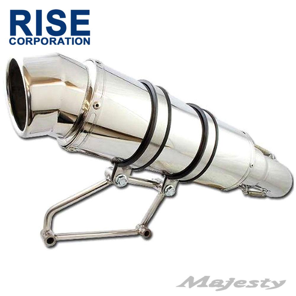 【あす楽対応】 マジェスティ C MAJESTY SG03J 5GM 5SJ フルエキ ステンレス 極太 マフラー
