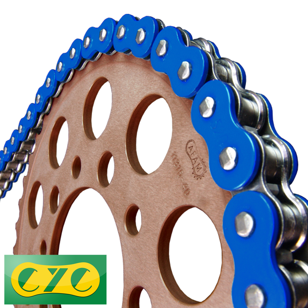 428-130L O ring blue chain seal chain DS80 RG80 TS80 TS80WE K90 RV90 DR125S  GN125E RG125 RA125 SP125E TF125E TR125GE TS125 TS125R TS125X wolf TV 125