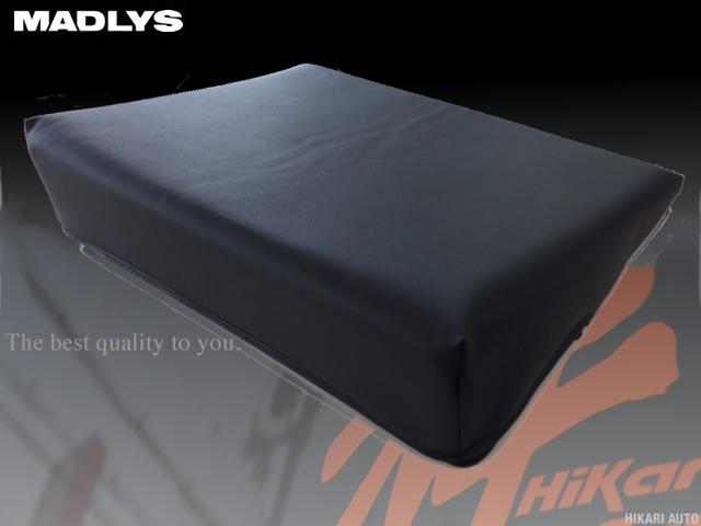 輝オート(ヒカリオート) デリカ D5 CV#W H19/1~ 専用設計 極楽クッション ブラック フルフラットでリラックススペースを確保 MADLYS Hikari Auto DELICA D:5
