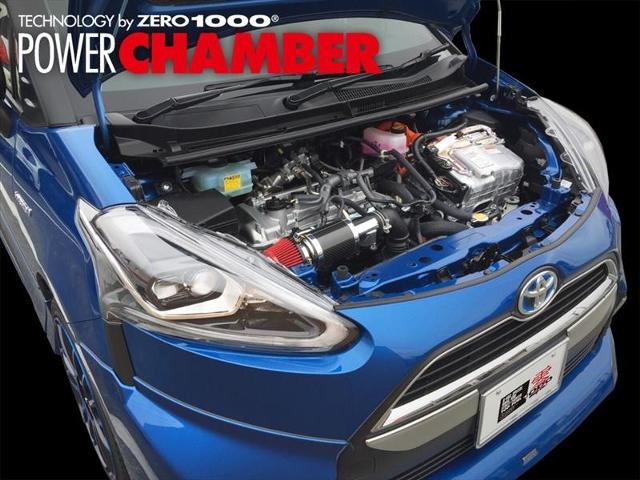 送料区分140サイズ ※代引き不可 付与 ZERO1000 パワーチャンバー トヨタ シエンタ 公式ショップ ハイブリッド NHP170G 1NZ-FXE 7~ H27 インテークキット エアクリーナー