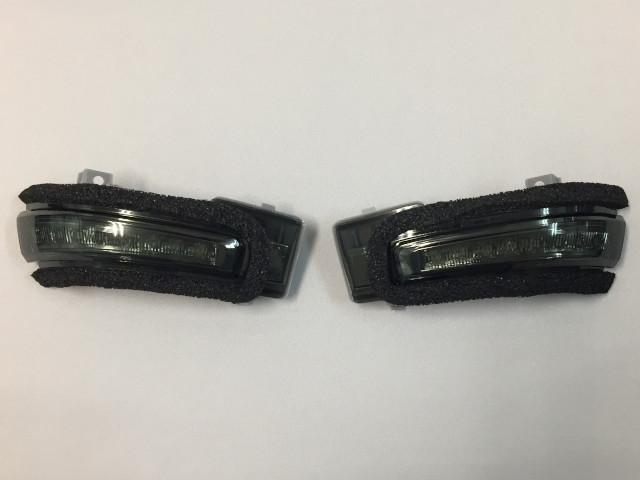 流れるLED シーケンシャルタイプ ドアミラーウインカーキット スモークレンズ SUZUKI(スズキ) ハスラー MR31S,MR41S H26/1~ 左右1セット 1台分 純正ターンランプと交換でイメージ激変!