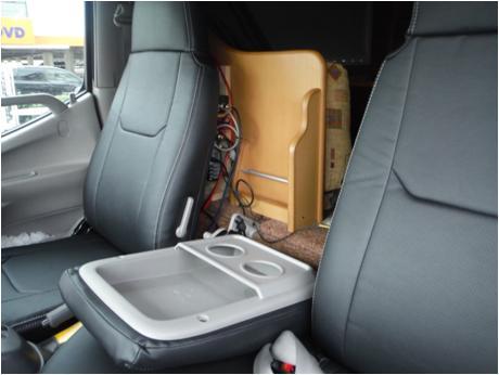 Hang(ハング) トラック専用設計 PVCレザーシートカバー ブラック トヨタ カムロード