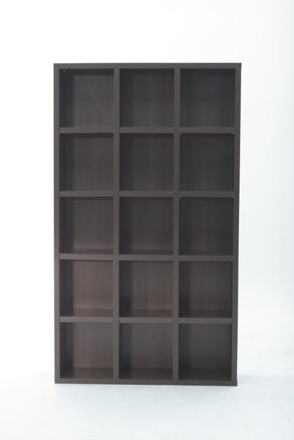 多目的ラック(CDラック カラーボックス)収納家具 ブックシェルフ ラック 大容量 スリム収納 本棚 本収納 レガール 収納棚5段 幅広 RG-1018 人気