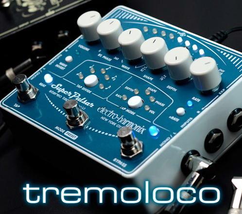 【Electro-Harmonix】Stereo Tap Tremolo(スーパーパルサー) トレモロ【EHX/エレクトロ・ハーモニクス】