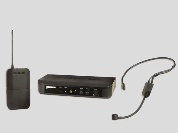 ★やや箱ボロ・1台限り特価★  SHURE/シュアー BLX14 / P31 ヘッドセットタイプ ワイヤレスシステム