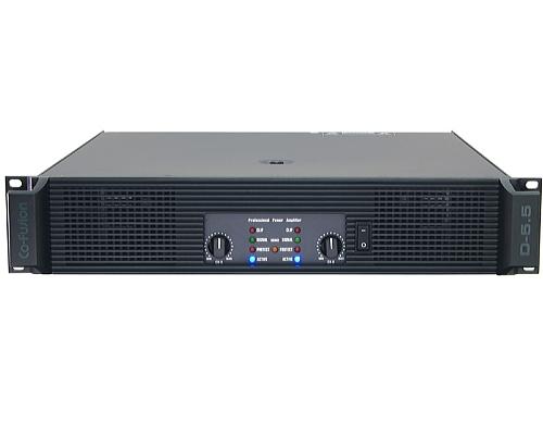 Co-Fusion (コフュージョン) パワーアンプ D-5.5 (出力4Ω:2x850W)