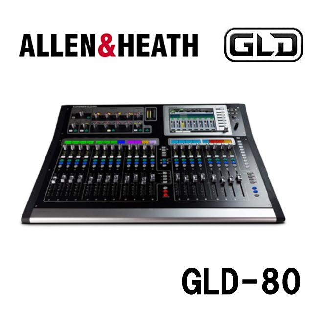 ALLEN & HEATH デジタルミキサー GLD2-080 GLD-80