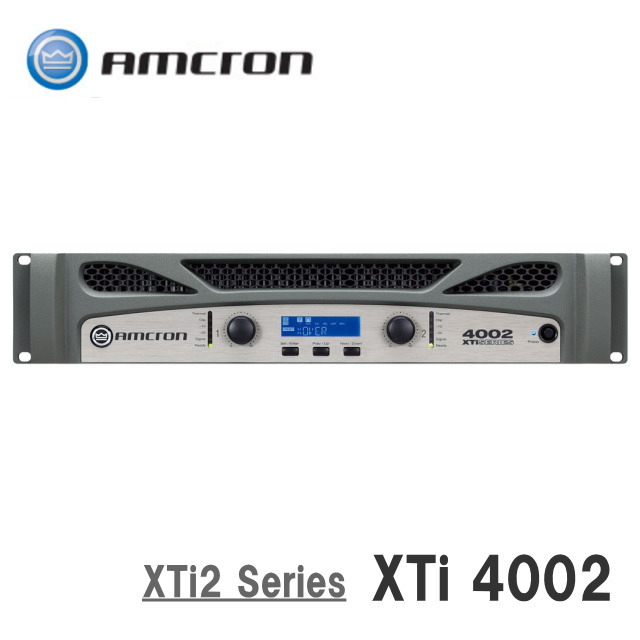 AMCRON/アムクロン XTi2 Series パワーアンプ XTi4002