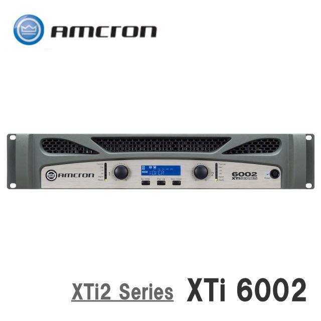 AMCRON/アムクロン XTi2 Series パワーアンプ XTi6002
