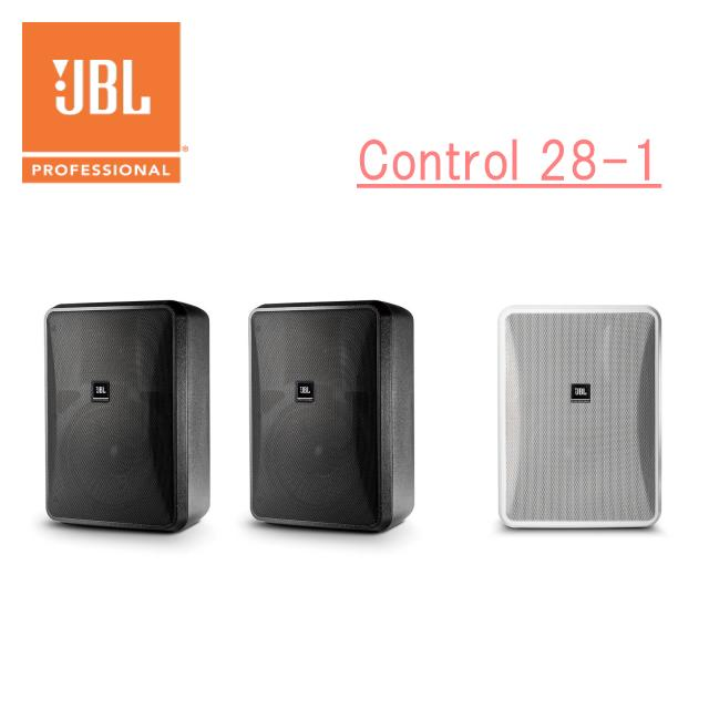 JBL 小型2-Wayフルレンジ・スピーカー 2本1組 Control28-1