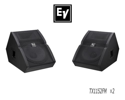 EV エレクトロボイス TX1152FM ×2台 セット販売 モニタースピーカー