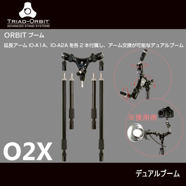 TRIAD-ORBIT TRIADスタンド用デュアルブーム O2X