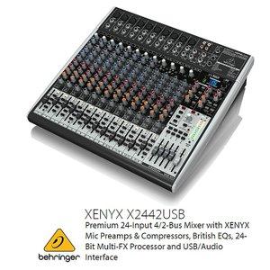 BEHRINGER/べリンガー X2442USB XENYX USBオーディオインターフェース搭載 アナログ・ミキサー