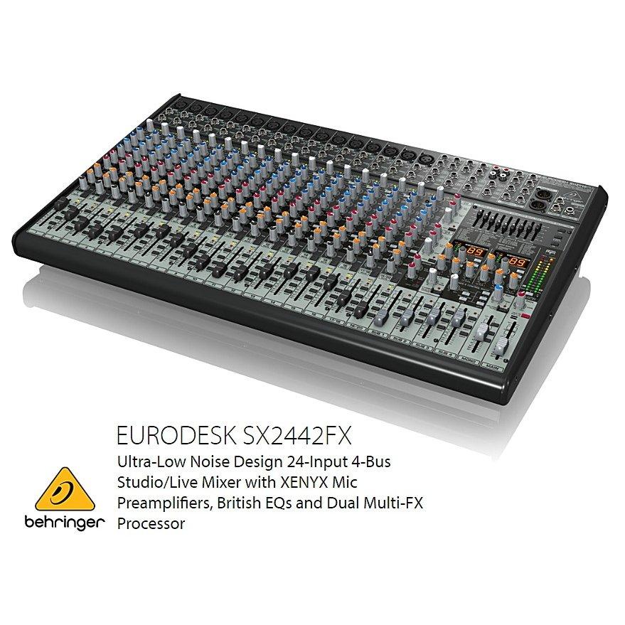 BEHRINGER/べリンガー SX2442FX EURODESK 24chアナログミキサー