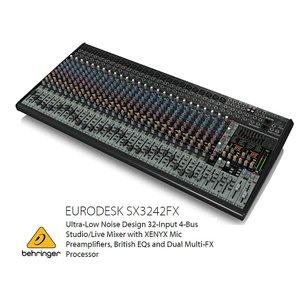 BEHRINGER/べリンガー SX3242FX EURODESK 24chアナログミキサー