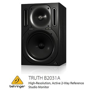 BEHRINGER/べリンガー B2031A TRUTH 8.75インチ2-Wayパワードモニタースピーカー