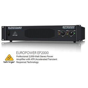 BEHRINGER/べリンガー EP2000 EUROPOWER 1000W×2(2Ω) ステレオパワーアンプ