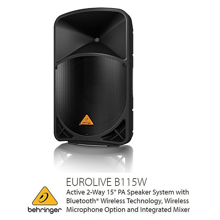 BEHRINGER(ベリンガー) B115W EUROLIVE B115W 2-Way 15インチ 15インチ EUROLIVE パワードスピーカー, マツダイマチ:8e7ce336 --- village-aste.fr