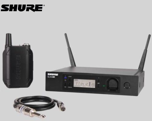 【特価】 SHURE SHURE ボディパック型ギターワイヤレスシステム GLX-D14R 2.4GHz帯 2.4GHz帯 GLX-D14R, ホルキン:ba18d4e5 --- canoncity.azurewebsites.net
