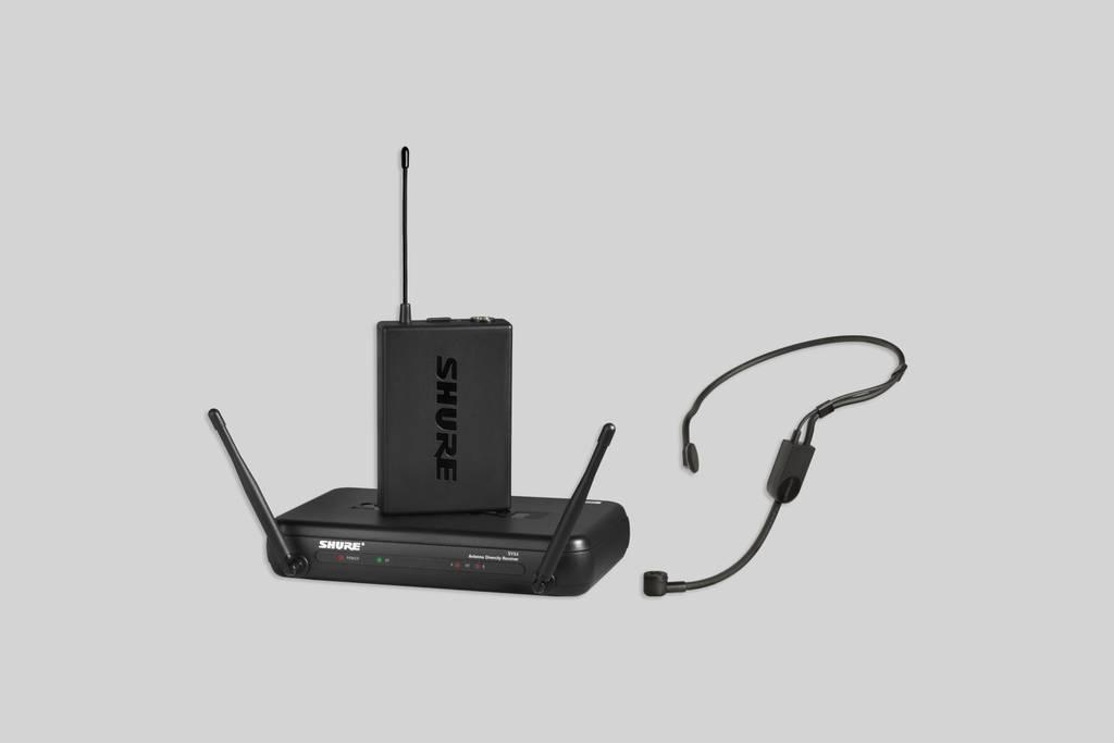 SHURE SVX14/PGA31 ヘッドウォーン・マイクロホン付属システム
