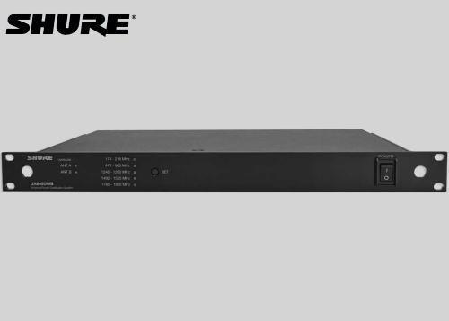 SHURE アンテナ分配器 UA845UWB-J