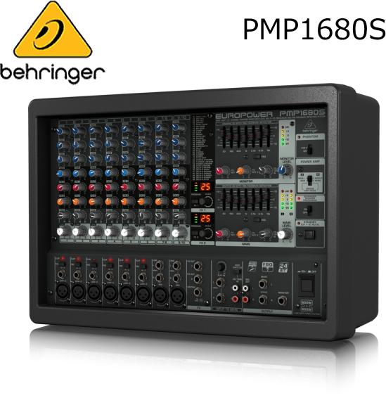 BEHRINGER/べリンガー パワード・ミキサー PMP1680S EUROPOWER