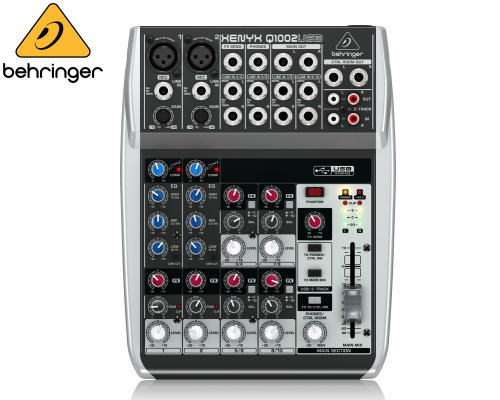 Behringer(ベリンガー)アナログミキサー Q1002 USB USB Q1002 XENYX, キノサキグン:2e4e9cd0 --- ww.thecollagist.com